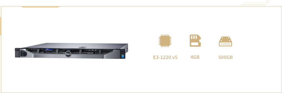 戴尔PowerEdge R230